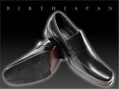 送料無料/ビジネスローファー/シューズ靴/冠婚葬祭スーツ&カジュアルも/730黒26.0