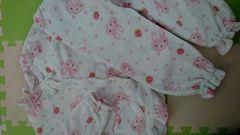 110女の子冬パジャマ