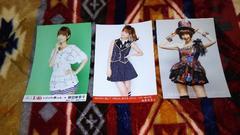 元AKB48篠田麻里子☆公式生写真〜まとめ売り9枚セット!訳あり
