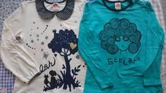 SCOLar☆長袖Tシャツ150☆2枚まとめ売り☆スカラー☆状態良好