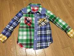 MPS チェックシャツ 110