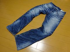 DPSR Jean ダメージ加工デニムジーンズBLUE  DAYS  【80cm】