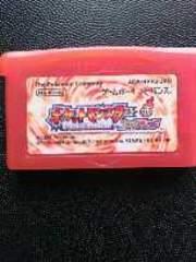 GBA[ポケットモンスター赤ファイアレッド]ソフトのみ。動作確認済み