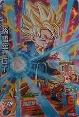 ドラゴンボールヒーローズGDM★1弾【SR】孫 悟空:GT