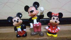 ディズニー★ミッキーマウス/ミニーマウス/3種セット/期限値下げ