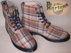 ドクターマーチン 7ホール キャンバス ブーツ14351250BG uk4