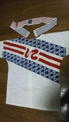 超オススメお祭り用品オリジナル鯉口シャツ/ダボシャツ120〜130cm位