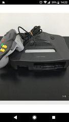 1000円スタート  通電確認済 任天堂64 ゲーム機本体