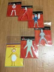 ウルトラマン シリーズ  ぷっくりシール6点セット!