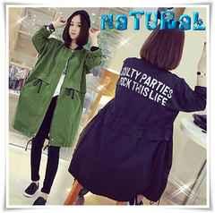 新作★大きいサイズ4L バクプリZIPジャケット*緑