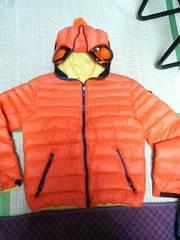 アイライダースオンザストームai rides on the stormダウンジャケット46オレンジ