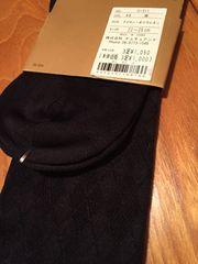 チュチュアンナ 靴下 ブラック 模様 ダイヤ 新品 タグ 22〜25
