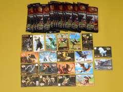 モンスターハンター4★モンスター3Dカードコレクション 全20種類
