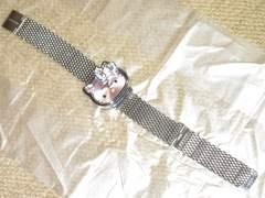 ステンレス製☆ハローキティダイカット腕時計(シルバー)