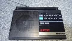 ナショナル ポータブルラジオ(AM-ワイドFM)