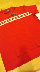 新品POLORALPH LAUREN カノコポロシャツ 赤ボーダーサイズXL→2XL位