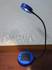 コンセント/電池不要!ソーラー卓上LEDライト☆IKEA製☆持運びに便利!