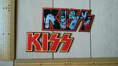 ��117 アイロンワッペン キッス KISS