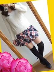 539新品★送料無料★紺×白 赤 チェック柄 ミニスカート