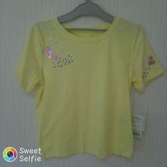 新品 半袖 Tシャツ S-M 可愛い飾り♪
