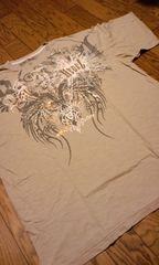 pepejeans ペペ デザインプリントスタッズTシャツ4XLXXXXL 大きいサイズ