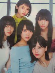 「欅坂46」の非売品両面クリアファイル