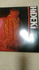 西城秀樹81年リサイタルパンフレット中古品