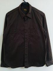 TENDERLOIN T-WORK SHT ワークシャツ テンダーロイン ブラウン S