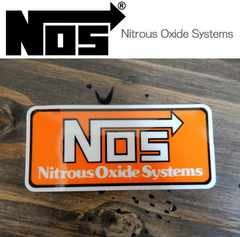 【送料無料】NOS ステッカー Nitrous Oxide ニトロ/No.1