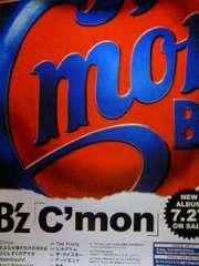 B'z「C'mon」 告知ポスター