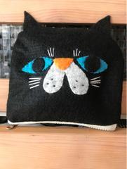 黒猫chanポーチ★handmaid