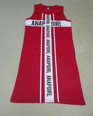 anap girl/size.M/袖無しワンピース/新品