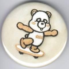 AAA>トリプルエー●缶バッチ・缶バッジ●え〜パンダ●新品