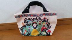¥2,700 ディズニー 白雪姫 小人 キンプロ ミニトート バッグ
