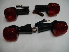 (955R)CB250NCB400Nホーク�V高品質ウインカー赤レンズ新品