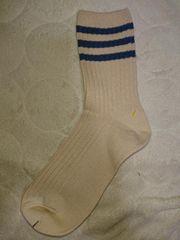 新品、靴下、くつ下、22�p〜25�p、ボーダー、1円、1スタ