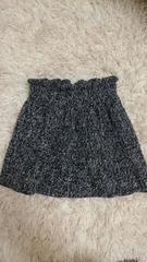 ツイード ミニスカート シンプルなスカート