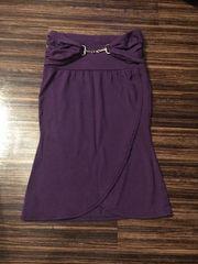 パープル スカート