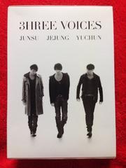 3HREE VOICES 初回DVD-BOX 東方神起 4枚組 JUNSU YUCHUN JEJUNG