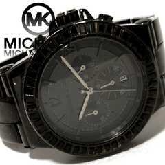 モバオクで買える「極レア 1スタ★マイケルコース/MK【クロノグラフ】メンズ腕時計」の画像です。価格は11円になります。