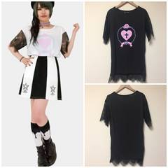 ☆HELLCATPUNKS レース使いTシャツ☆