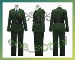 ヘタリア イギリス 軍服◆コスプレ衣装01