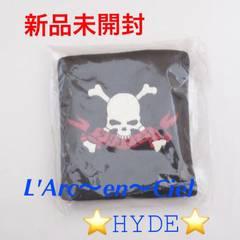 新品☆L'Arc〜en〜Ciel HYDE 限定販売★リストバンド・スカル