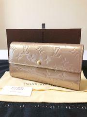 1円 ◆正規品◆ 極美品 ルイヴィトン ヴェルニ 長財布 箱付属