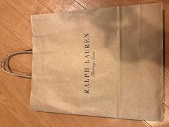 ラルフローレン ショップ袋
