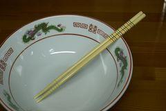 マイラーメン箸 1組 竹製 掴みやすい滑り止め付き