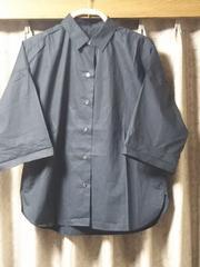 ロペ☆袖広めシャツ濃紺Used
