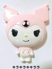 デコBIGパーツピンク★クロミちゃんレア【ラスト】