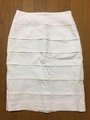タイトスカート 白 ホワイト