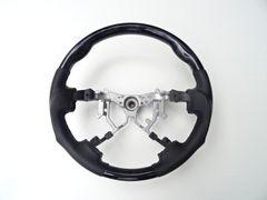 黒木目 ウッド ハンドル トヨタ ハイエース200 4型